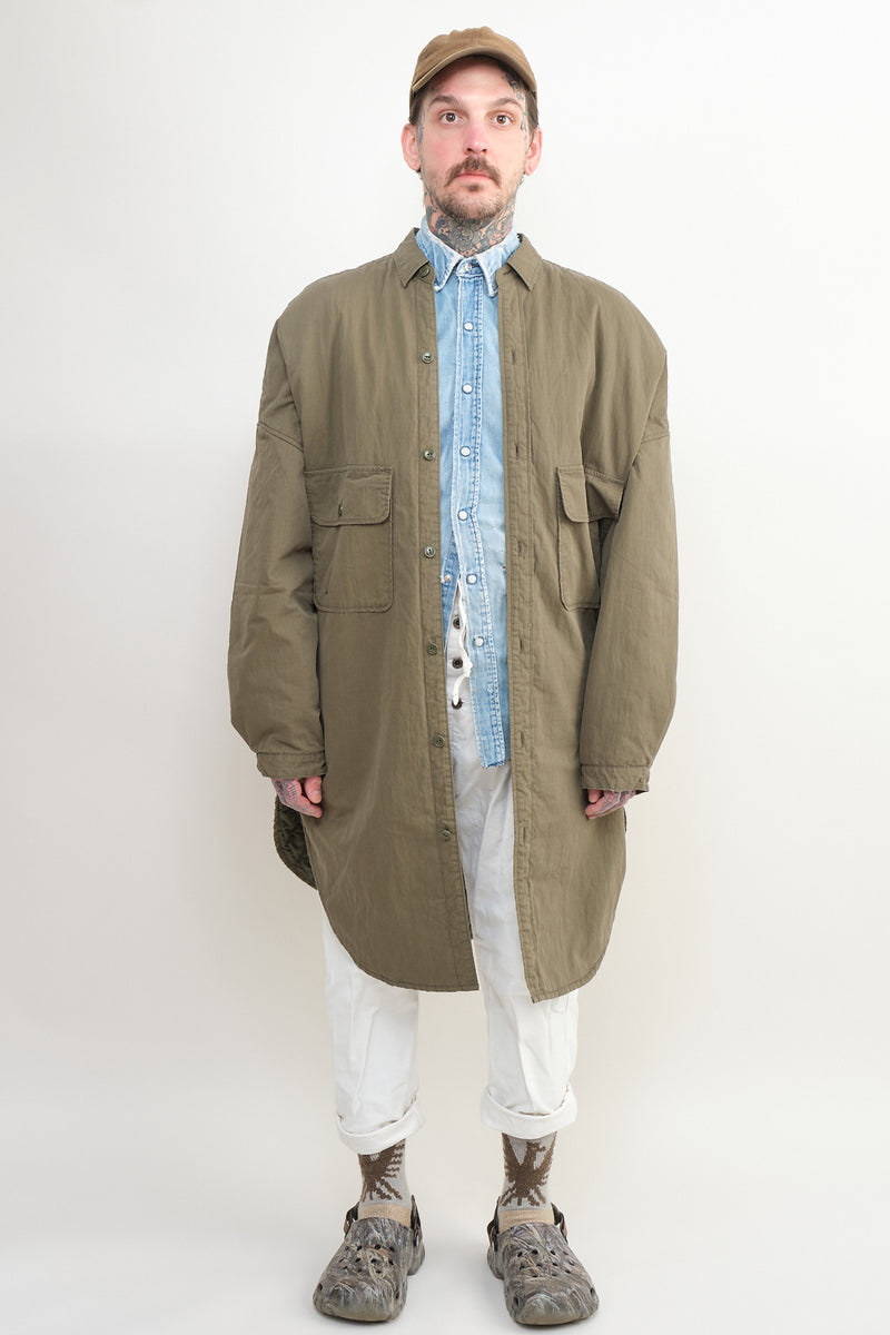 kapital sloppy shirt coat