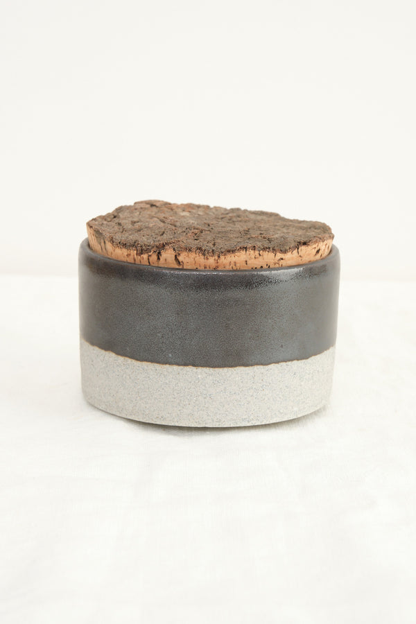Humble Ceramics cork canister