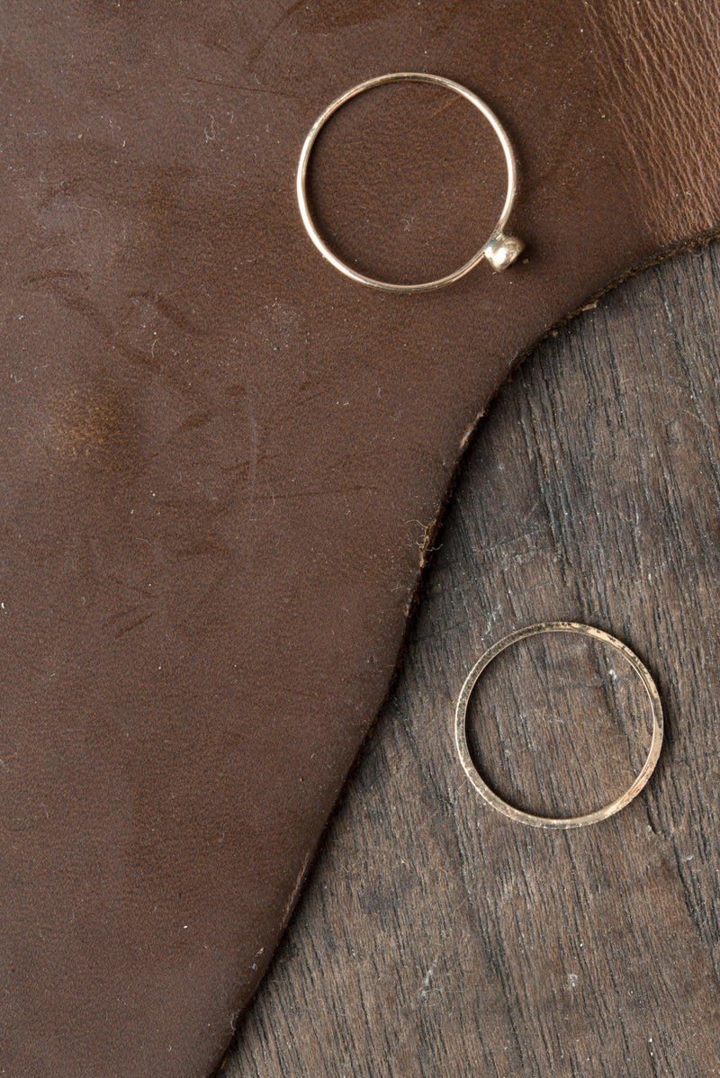 Jewelry made with reclaimed gold