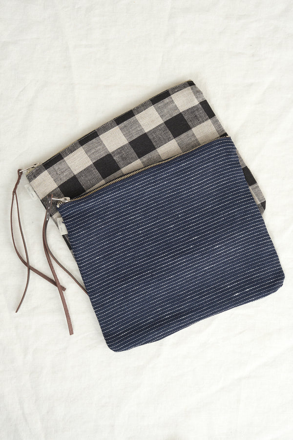 Fog Linen Work large canna pouch
