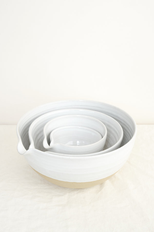 Farmhouse Pottery pantry bowls set of 4