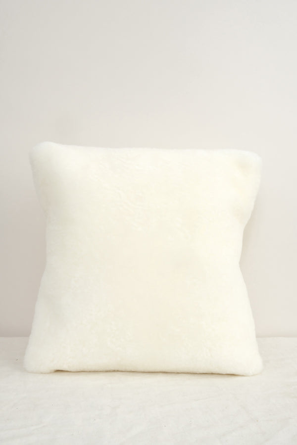 Farmhouse Pottery sheepskin pillow
