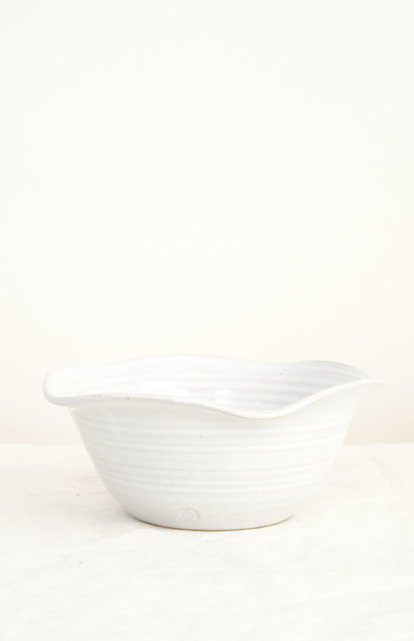 small windrow bowl farmhouse pottery