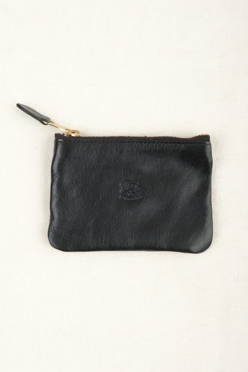 Il Bisonte Coin Purse Nero