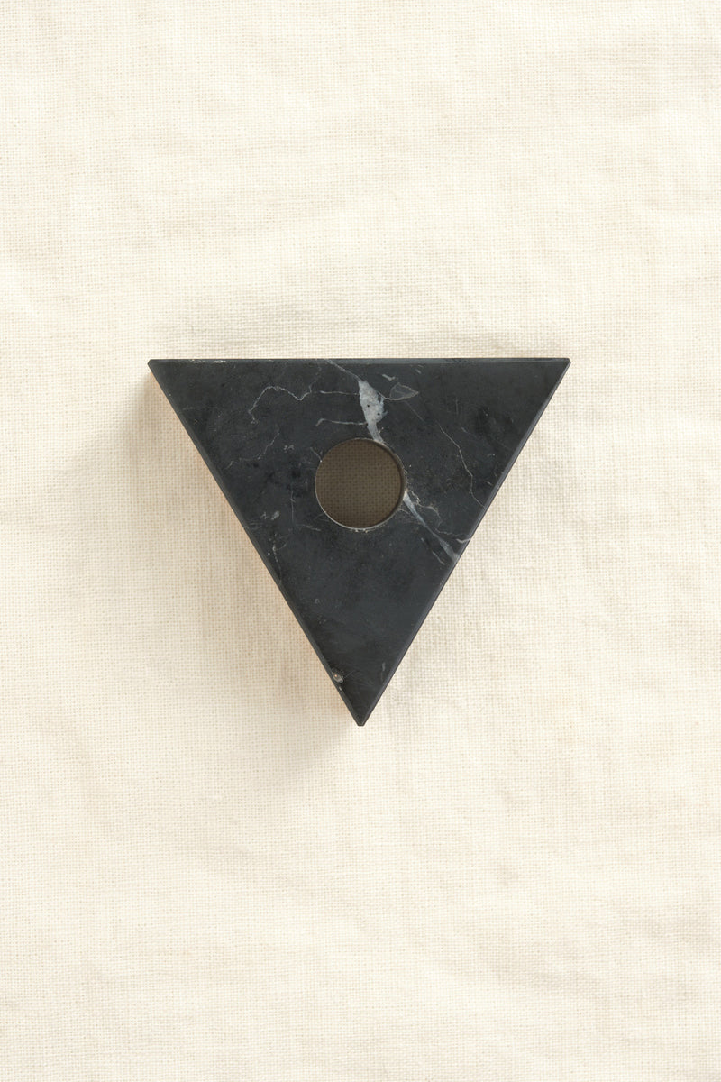 Fort Standard triangle candle holder