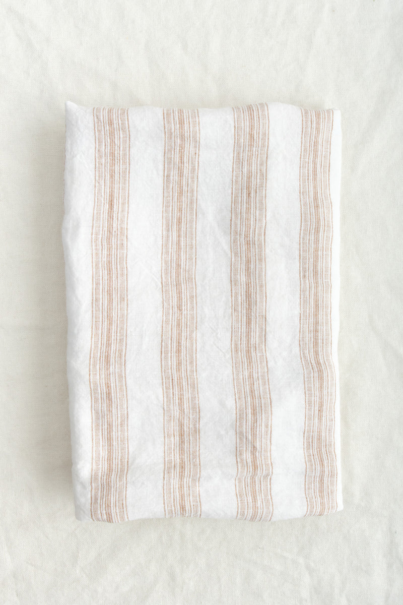 Hale Mercantile Euro Basix Stripe Pillowcase Aryton/Russo