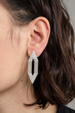 HannahK small points earrings in silver