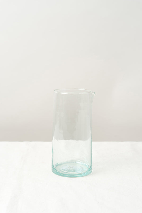 Hawkins New York Recycled Glass Pitcher