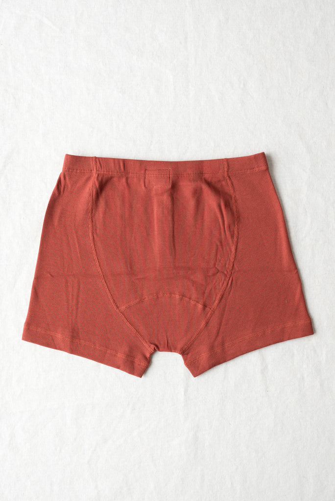 mens hemen boxer shorts in earth red