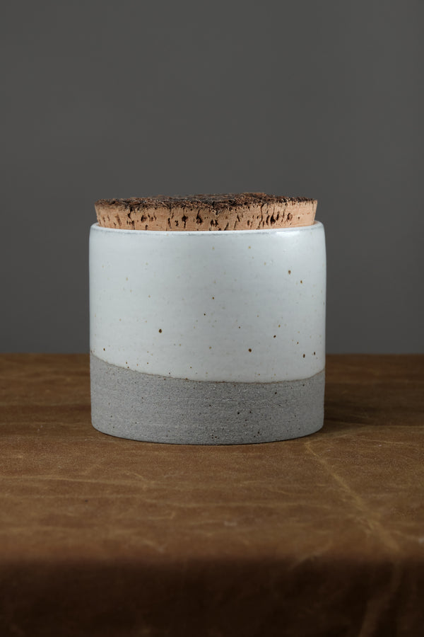 Corked Canister Humble Ceramics