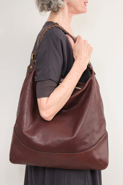 Il Bisonte Dark Brown Leather Purse