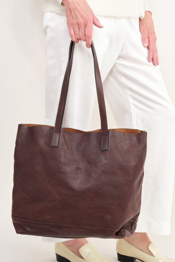 Il Bisonte Leather Tote