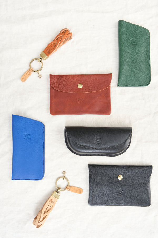 Il Bisonte Leather Key Ring