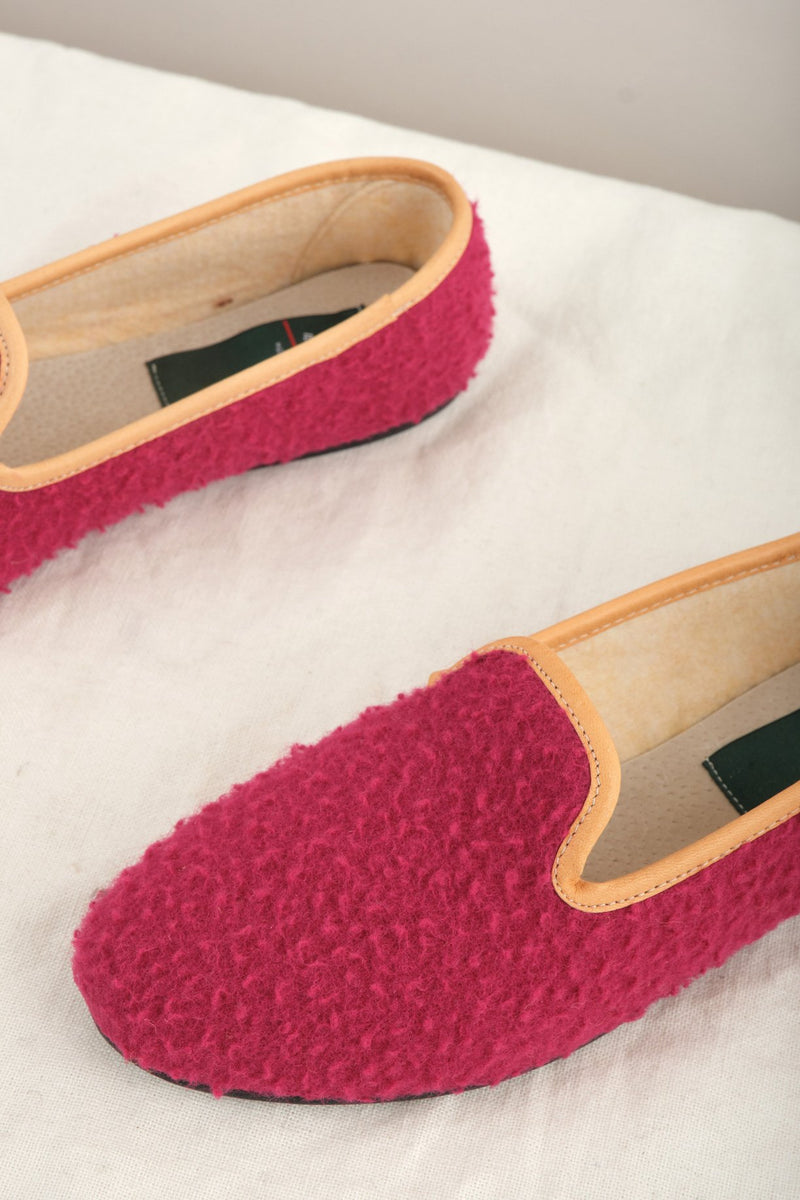 Il Bisonte Wool Slippers