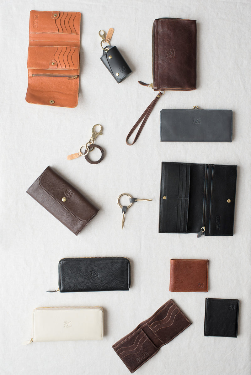 il bisonte leather wallets