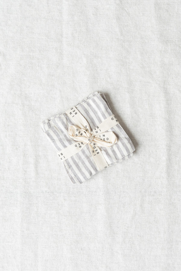 In Bed Linen Coasters