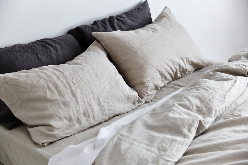 Linen king bedding