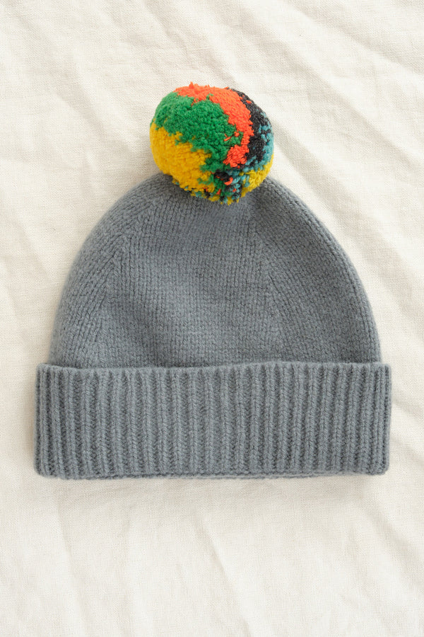 Jo Gordon Shaggy pompom hats