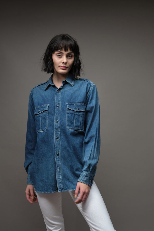 Kapital 8oz Denim KAMOKE Work Shirt