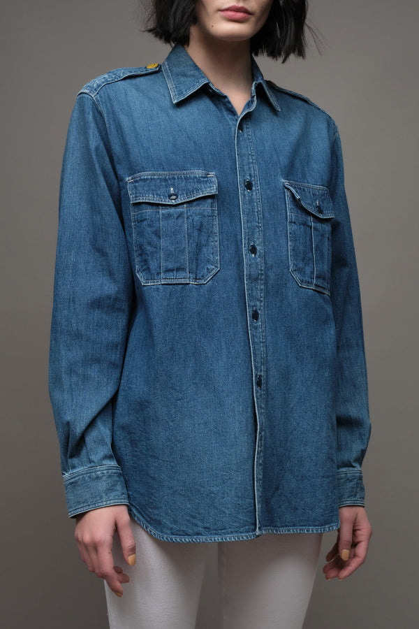 8oz Denim KAMOKE Work Shirt Kapital