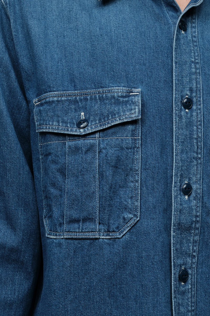 Kapital Two front pockets work shirt