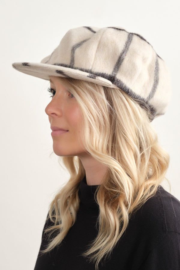 Clyde Kingston Hat Plaid