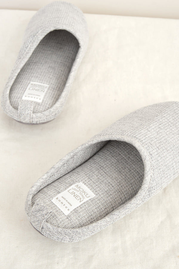 linen cotton house shoes kontex