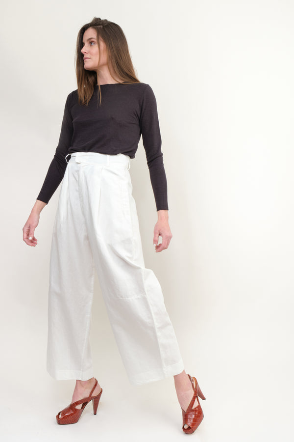 Kristensen du Nord Cotton Linen Pants