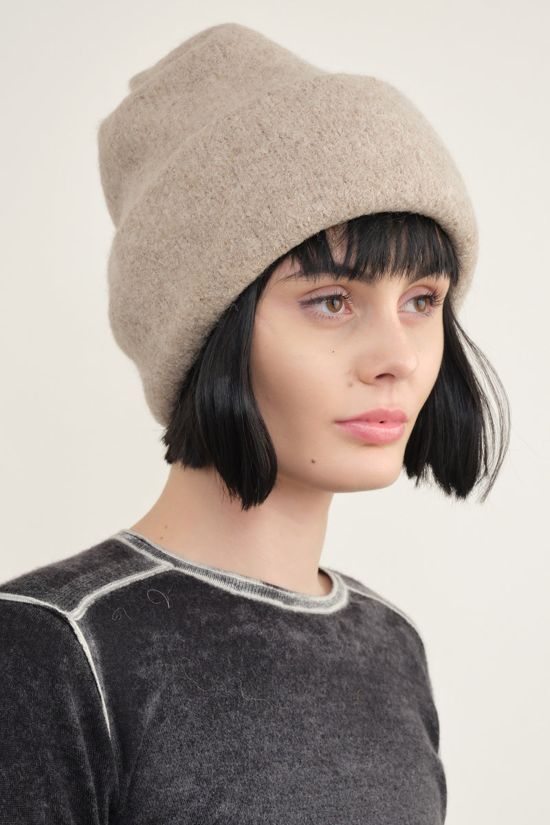 carpenter hat oatmeal lauren manoogian