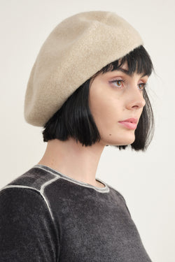 Horizontal Beret in Antique