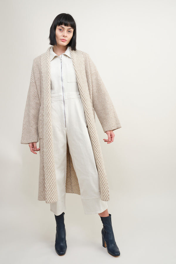 Lauren Manoogian twill long coat