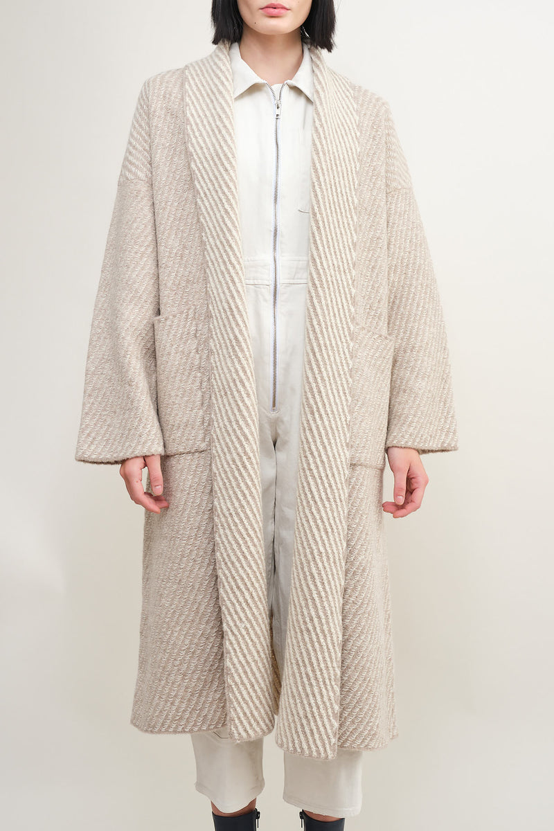 twill long coat Lauren Manoogian