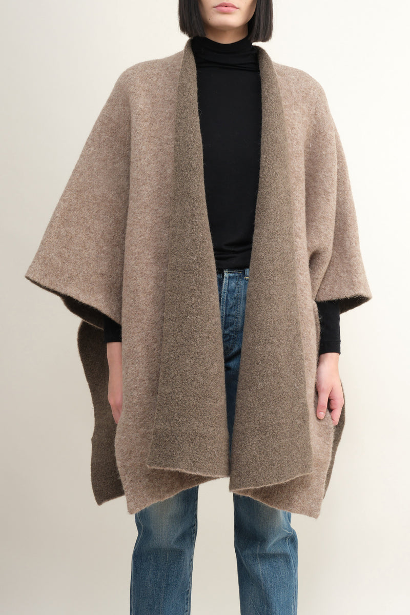 mantle poncho sweater Lauren Manoogian