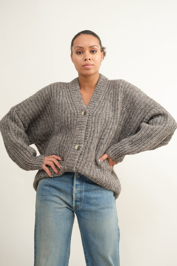 Lauren Manoogian new grandma cardigan