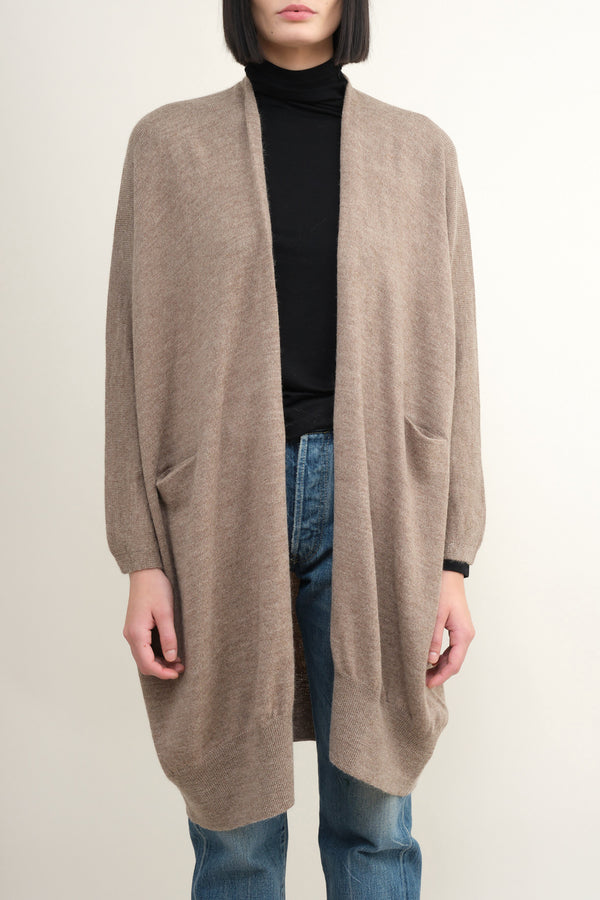 mouse wide cardigan Lauren Manoogian