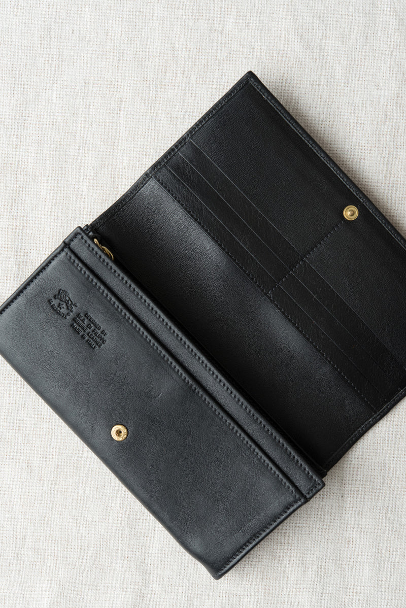 functional leather wallet