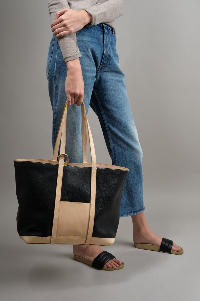Lindquist leather tote