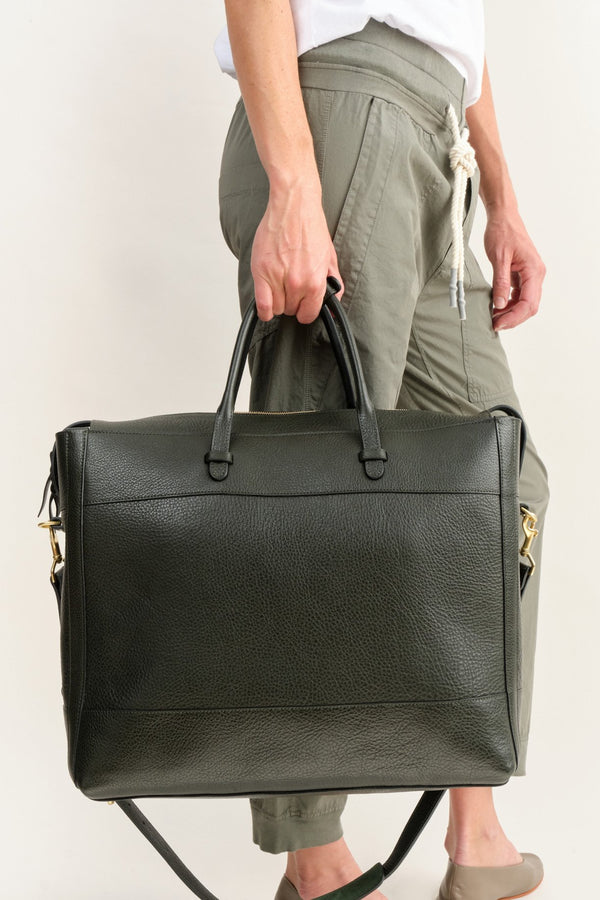 Lotuff Leather Lap Top Bag