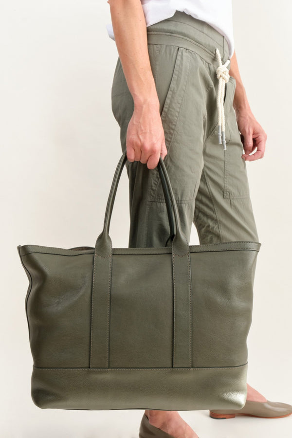 Lotuff Leather Work Bag