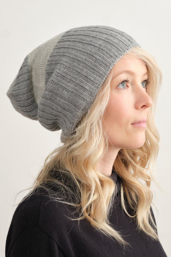 Mature Ha Ribbed Beanie