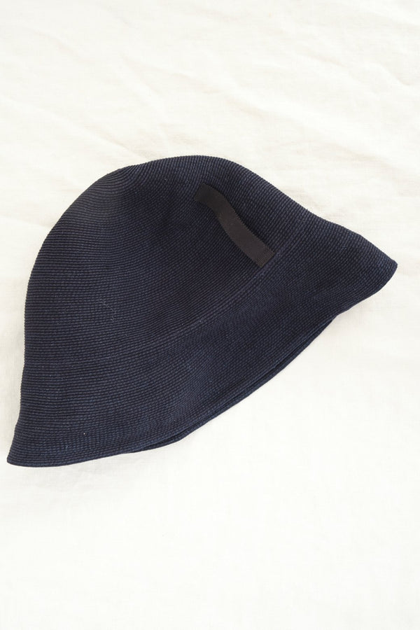 Mature Ha Paper Braid Denim Hat