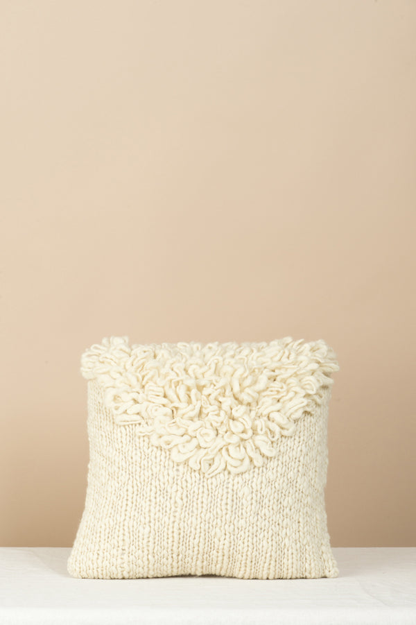 MINNA white moon pillow