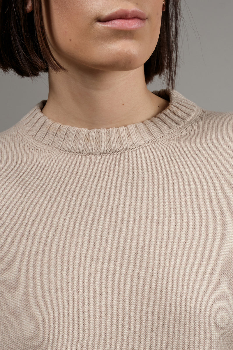 ribbed neckline MM6
