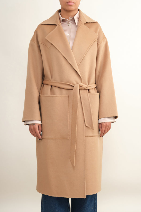 alamo oversized robe coat Nanushka