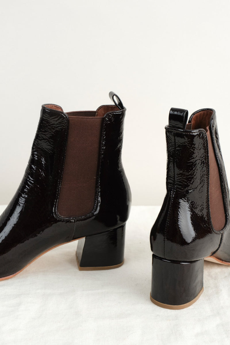 No. 6 Bristol Ankle Boot Brown Leather