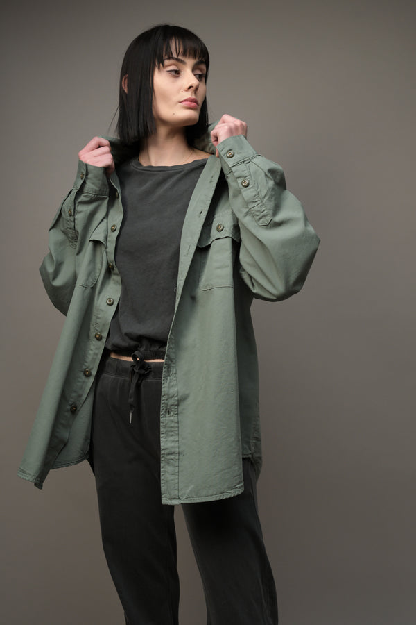 NSF Busy Oversized Boyfriend Shirt