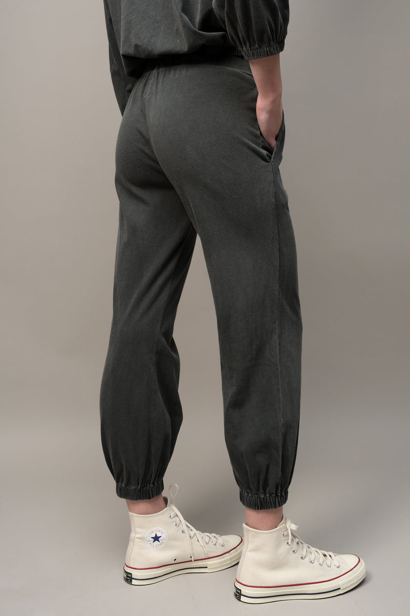 Kane Balloon Hem Lounge Pant in Gray