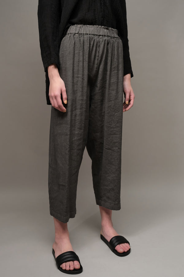 Draped Linen Blend Pants Pas De Calais