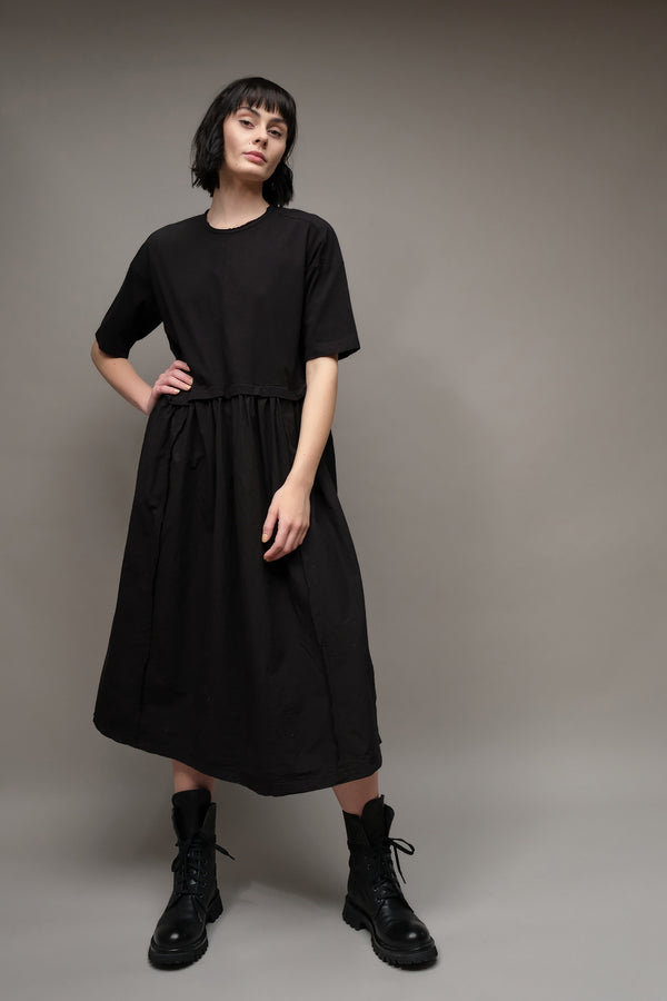 Pas De Calais Jersey Cotton Shirt Dress