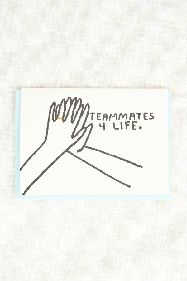 People I've Loved Teammates Card